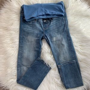 H&M maternity ankle jeans